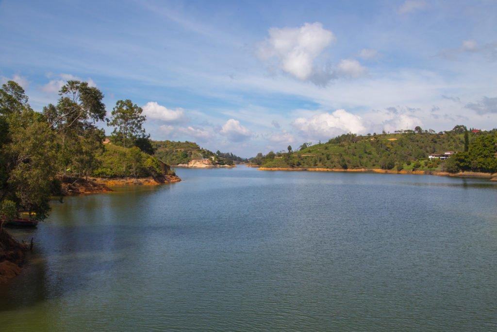 Reisebericht El Penol Guatape Seelanschaft-Kolumbien