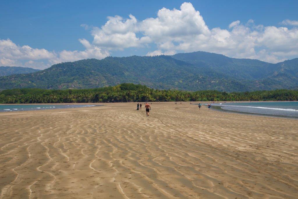 Nationalpark Marino Ballena Costa-Rica