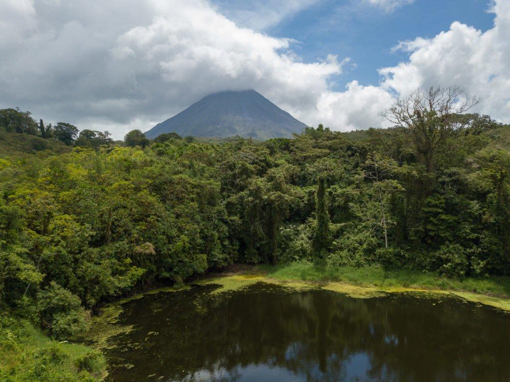 Arenal Vulkan Rundwanderung Nationalpark Costa Rica