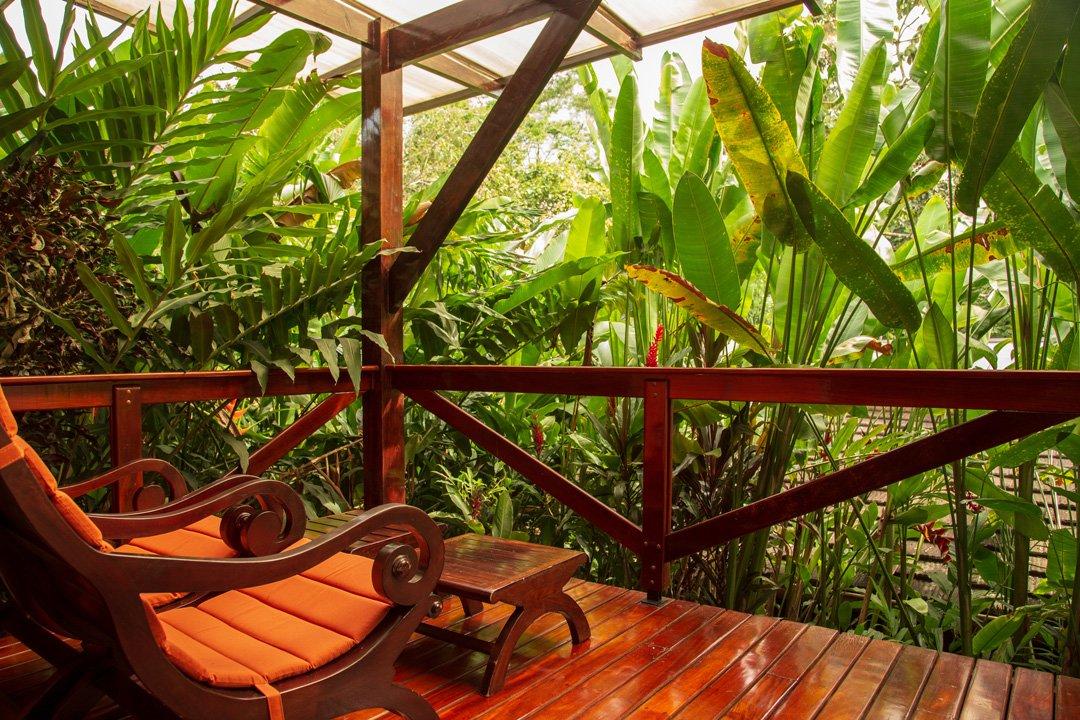 Nayara Resort Veranda der Villa
