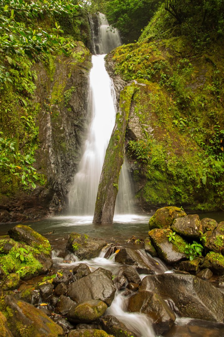 Silencio Lodge Melody Wasserfall Costa Rica