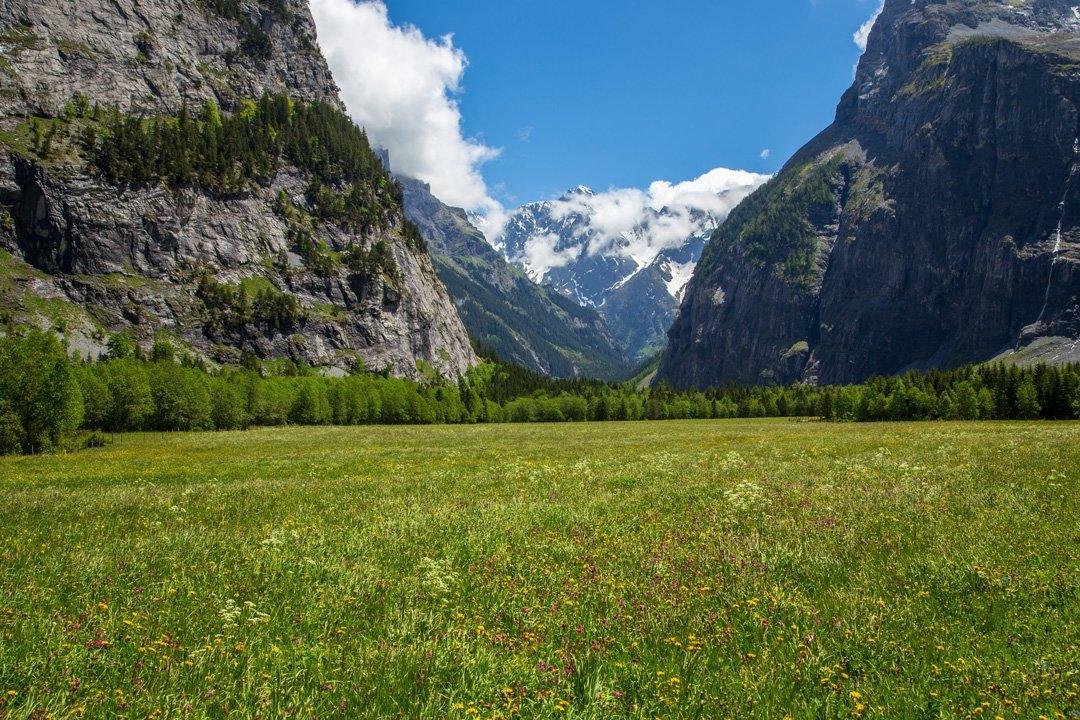Wanderung Gasterntal Berner Oberland