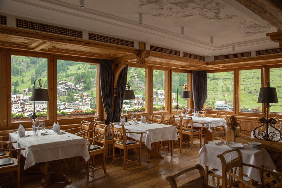 Restaurant ChaletHotel Schoenegg Relais Chateaux Zermatt
