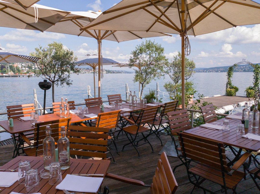 Restaurant L'O Horgen Wanderung Seeuferweg nach Wädenswil