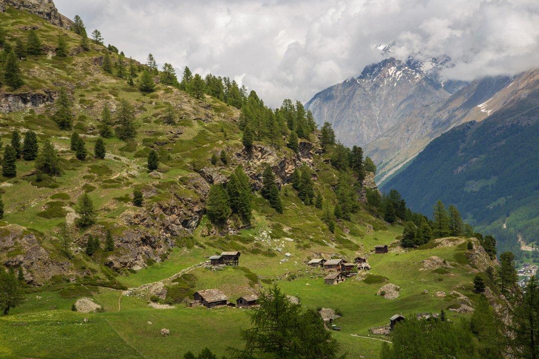 Rundwanderung Zermatt Zmutt