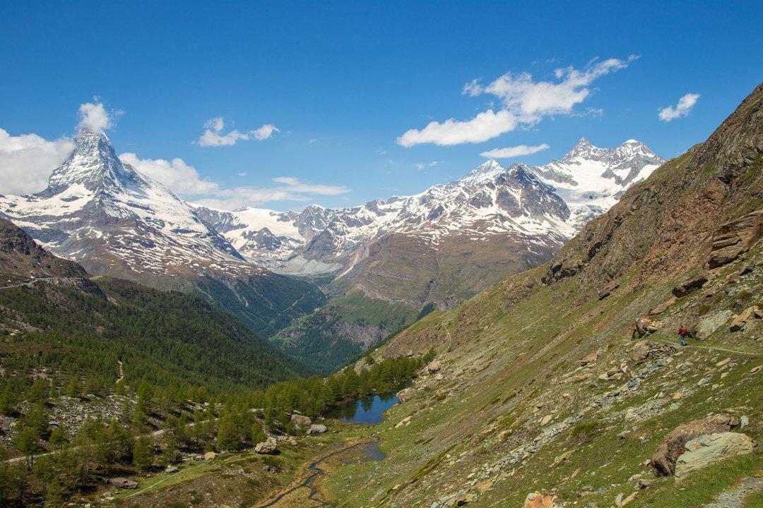 Wanderung Blauherd Zermatt
