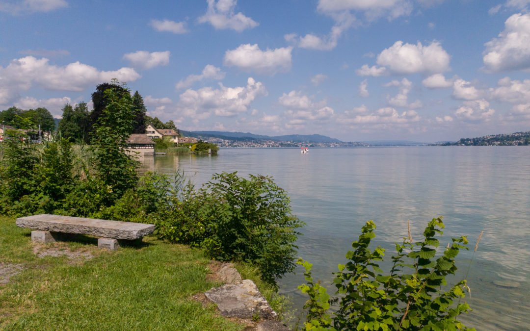 Wanderung Seeuferweg Horgen Wädenswil