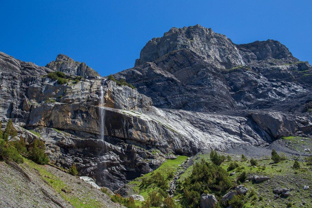 Wasserfälle Wanderung Oeschinensee Kandersteg