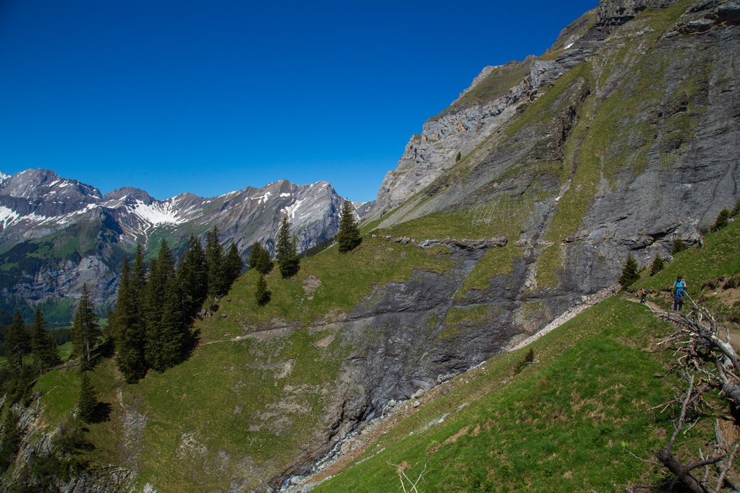 Wanderweg Oeschinensee Kandersteg