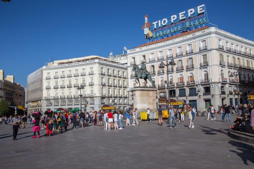 Madrid-nach-Barcelona-Puerta del Sol