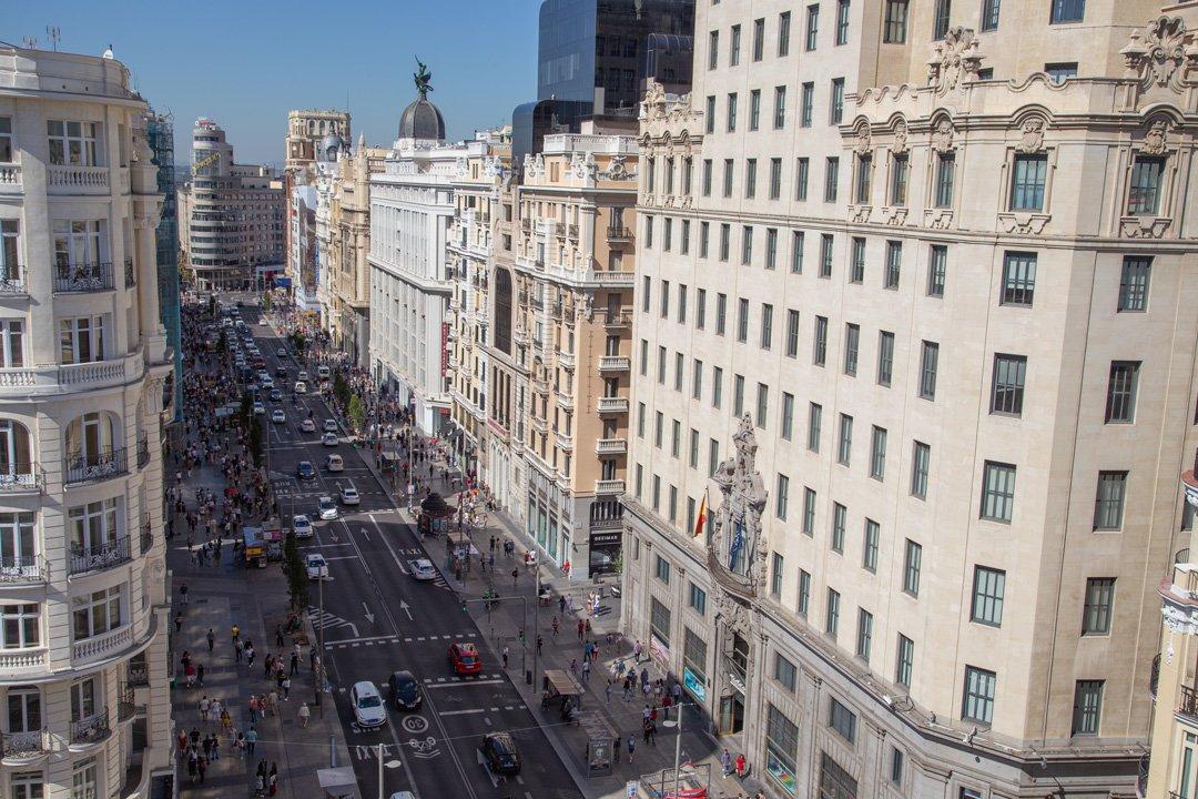 Calle Gran Villa Madrid
