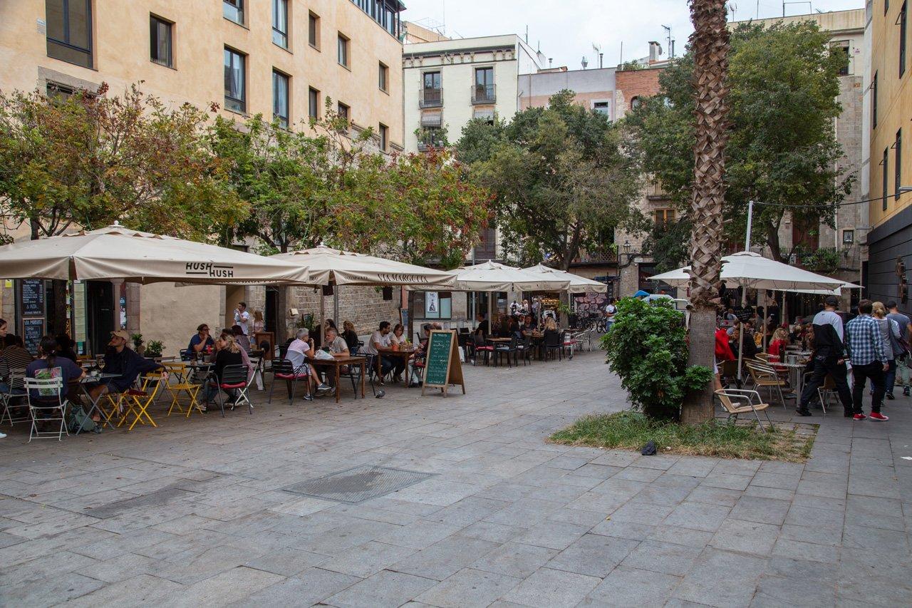 Barcelona Plaza Sant Cugat