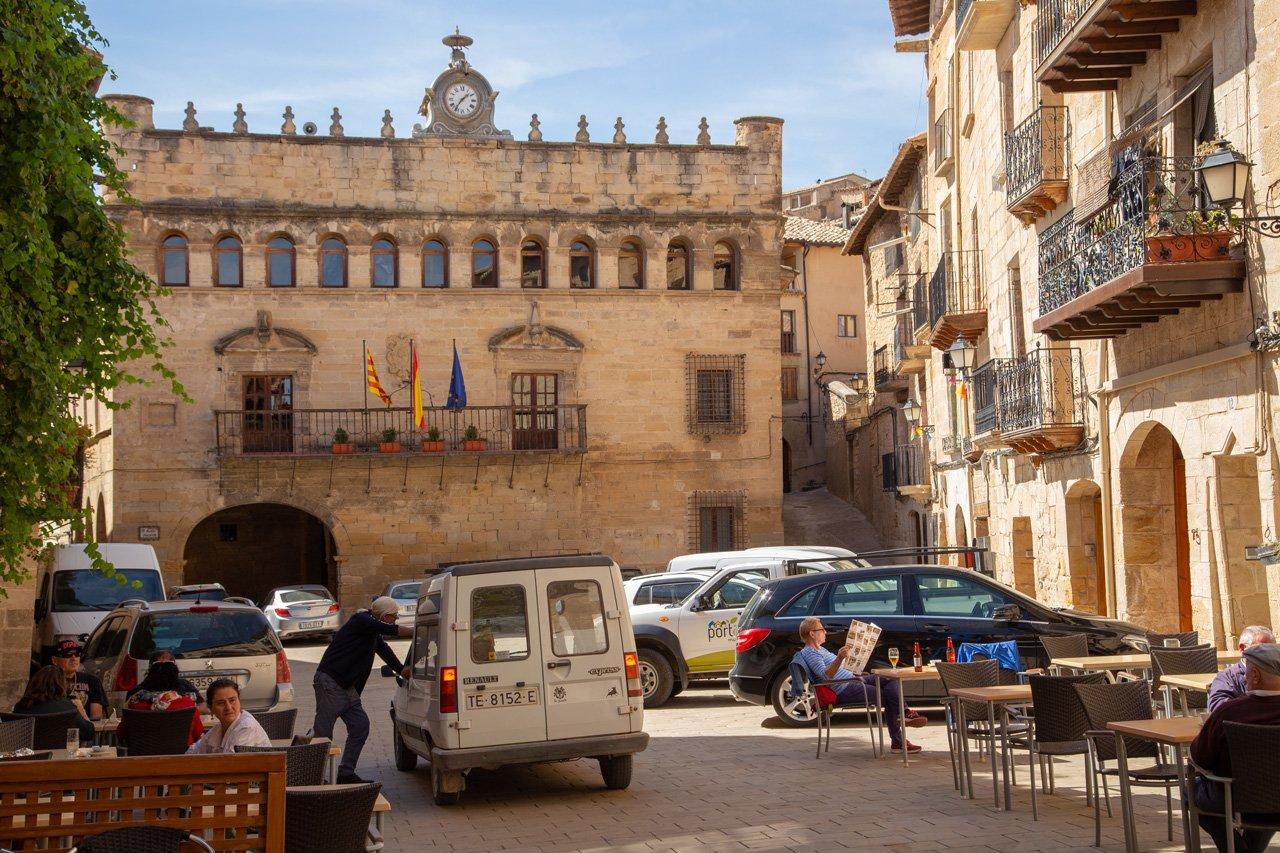 Matarrana Fresneda Plaza Mayor