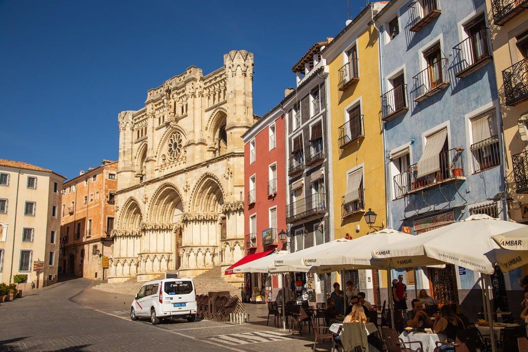 PLaza Mayor in Cuenca