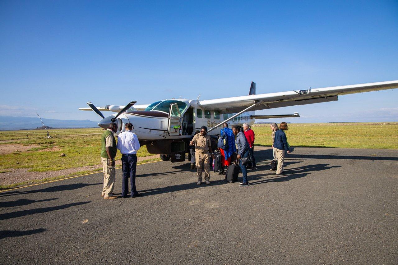 Flugsafarai Kenia Amboseli Nationalpark