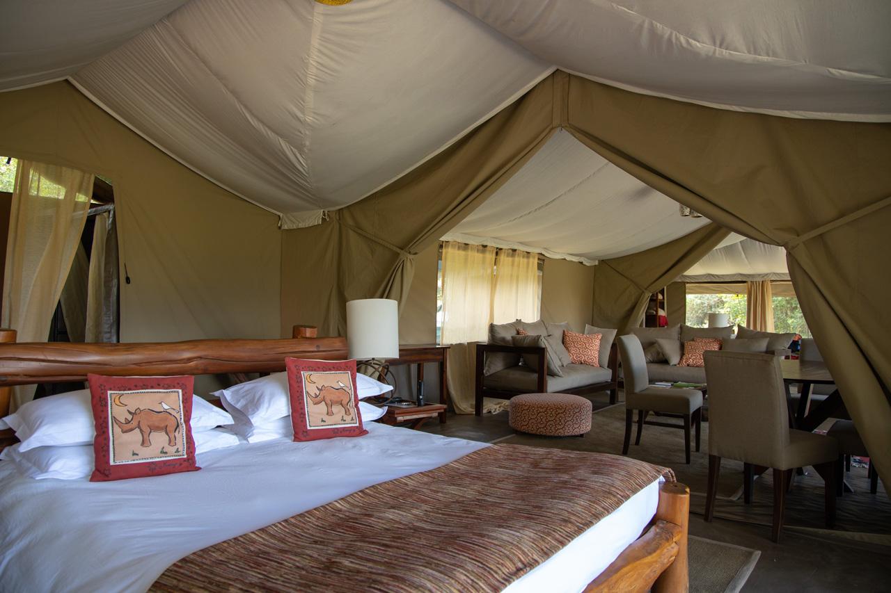 Kicheche Mara Camp Familienzelt