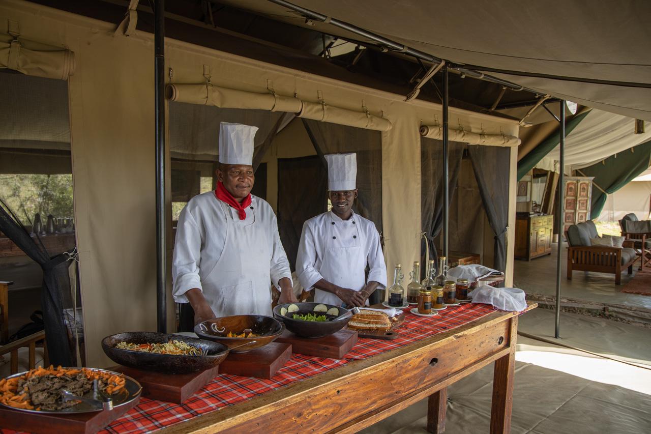 Kicheche Mara Camp Köche