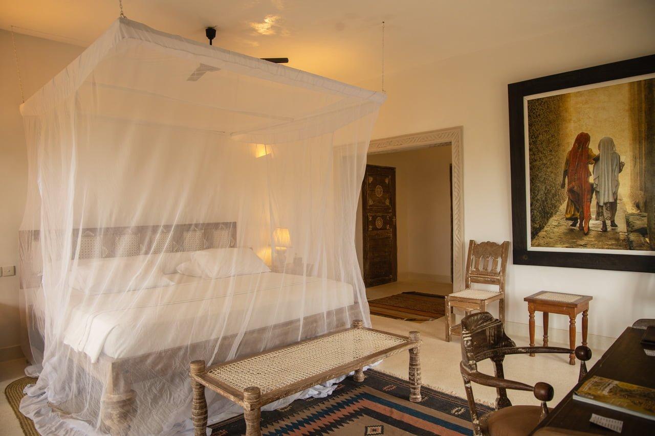 Majlis Deluxe Sea View Room Lamu