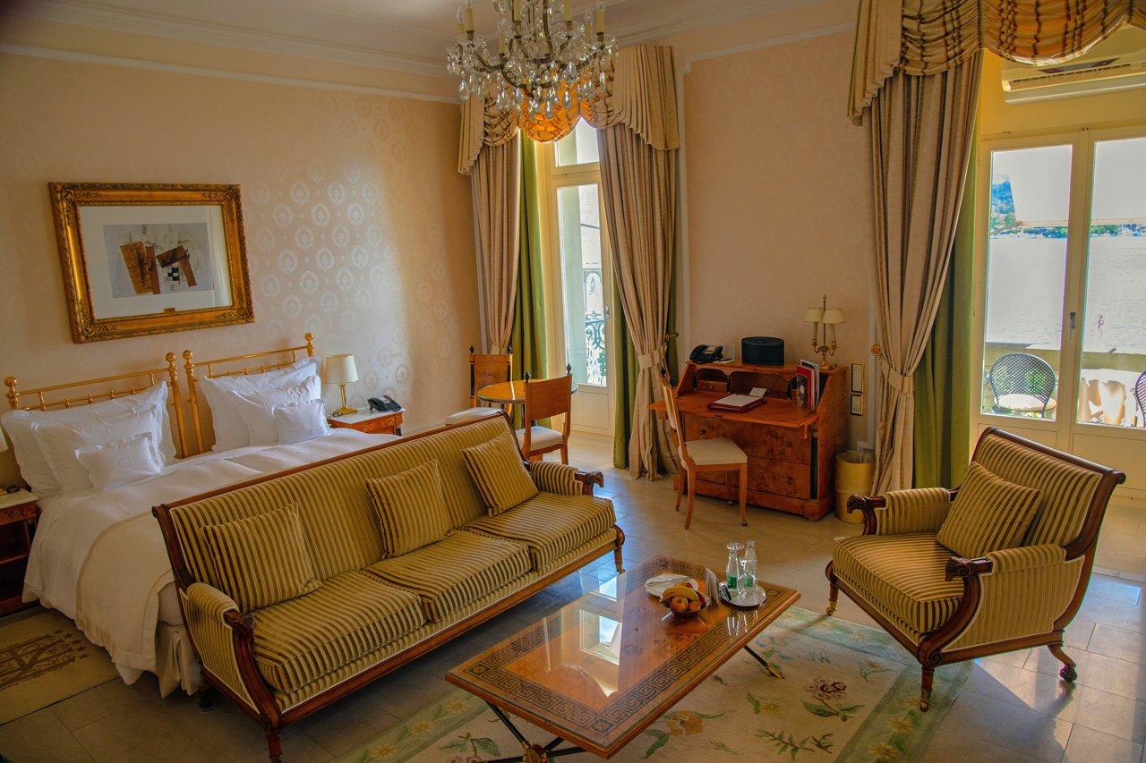 Grand Hotel National Zimmer Seeblick Luzern