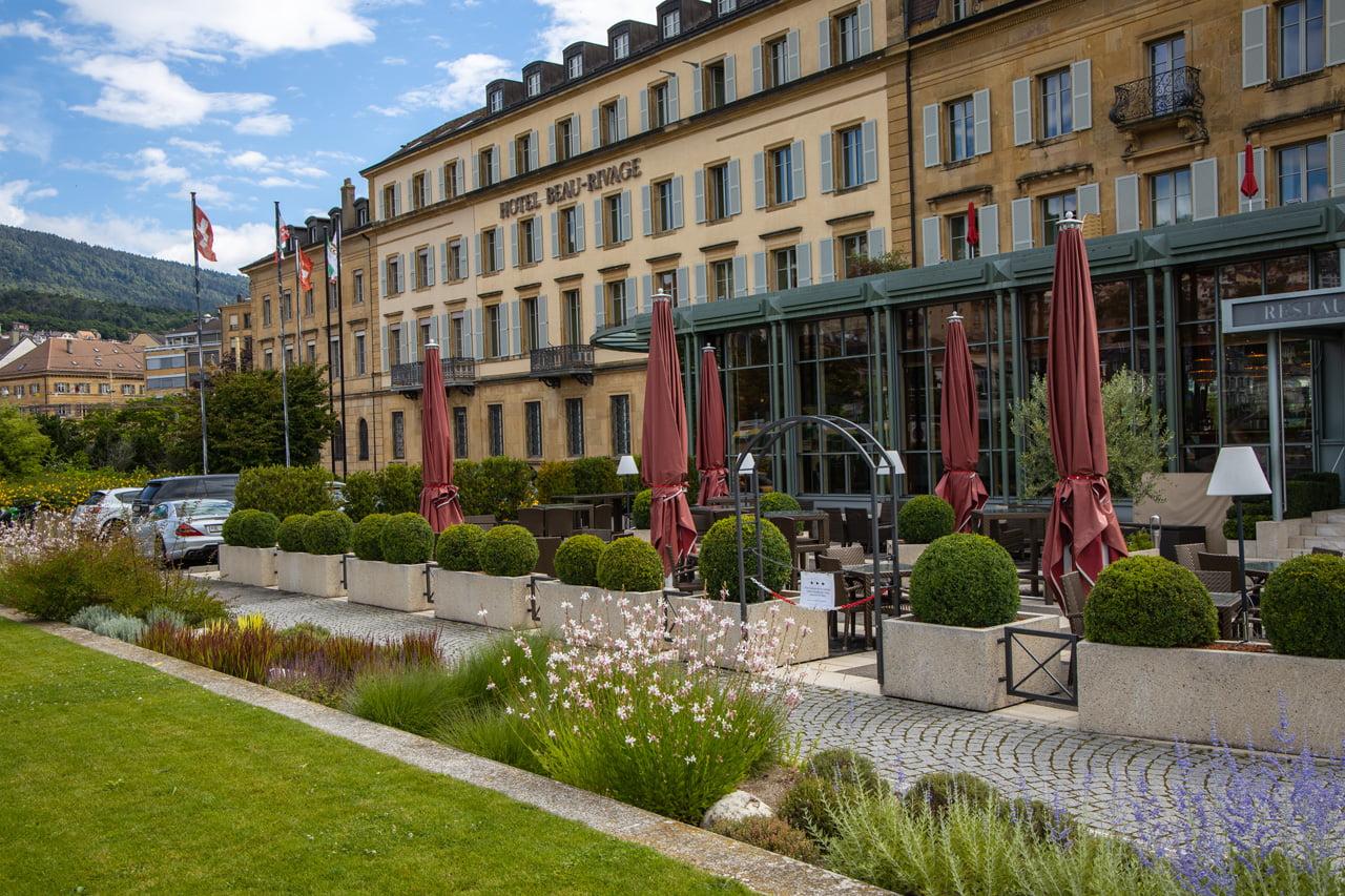 Hotel Beau Rivage Relais-Chateaux Neuenburg
