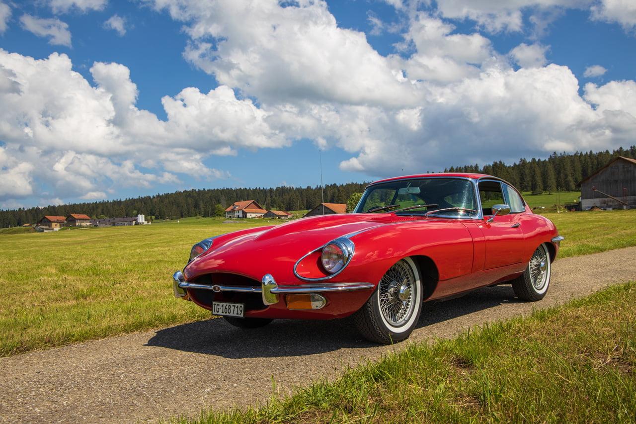Jaguar E 1968
