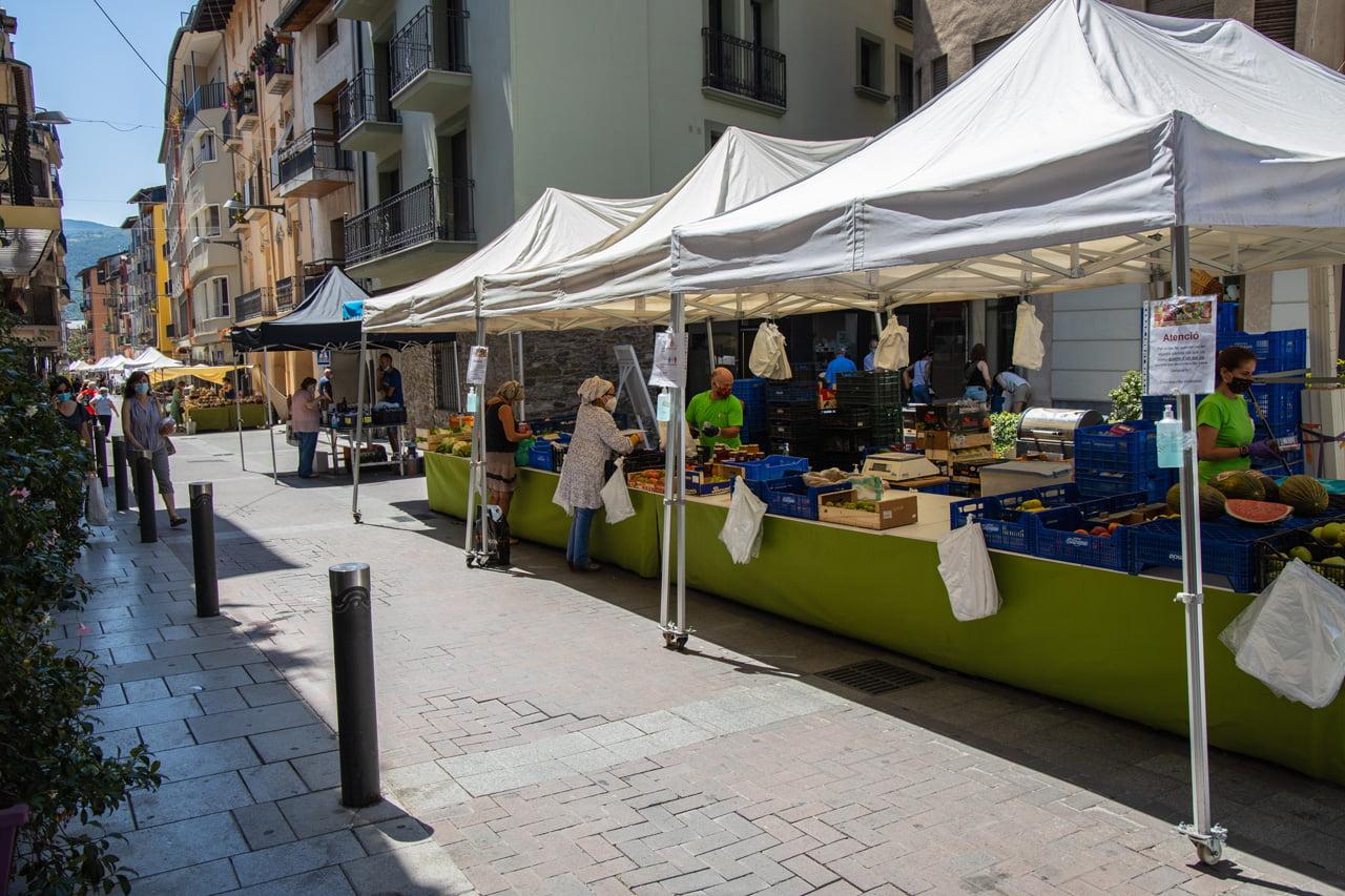 La Seu d'Urgell Markttag