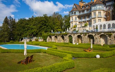 Zwischenstopp im Relais Châteaux Hotel - Château des Avenières