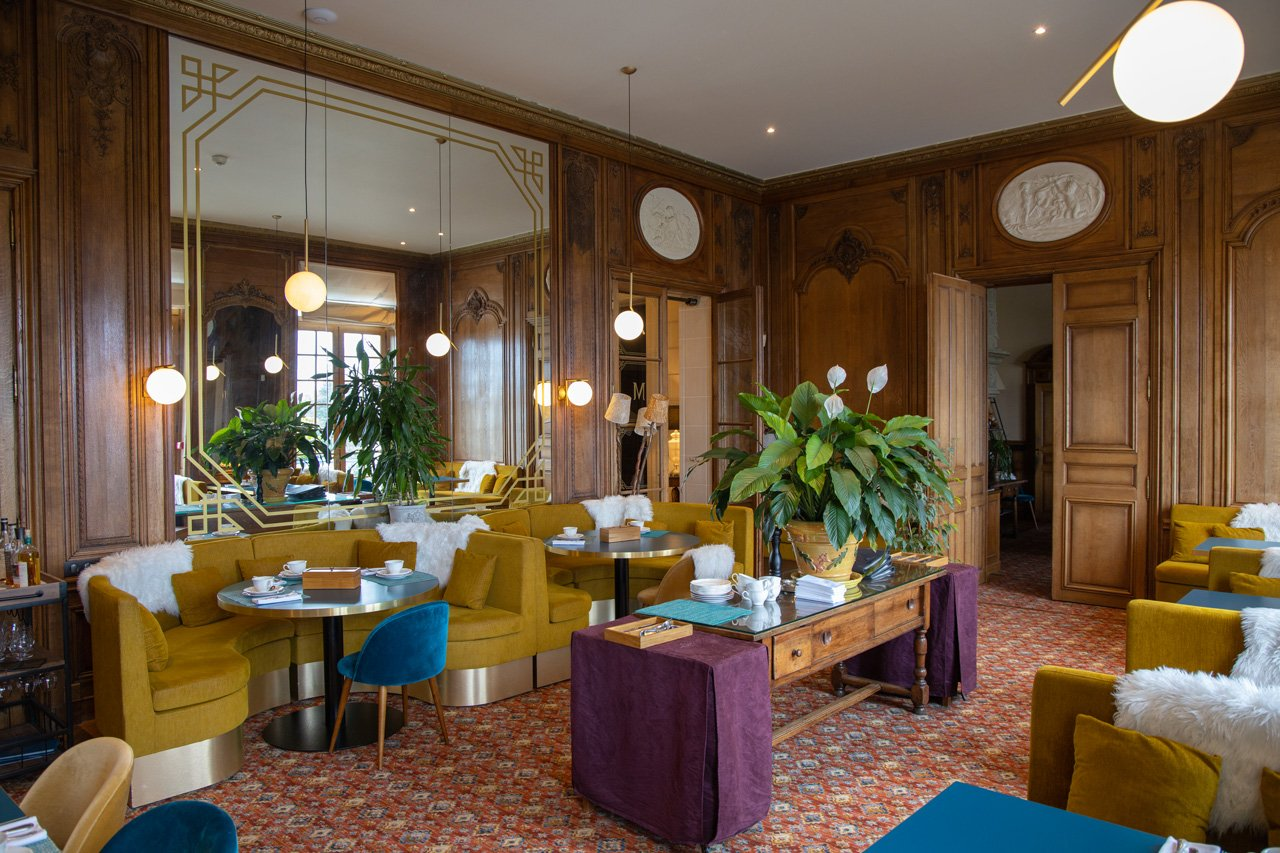 Restaurant des Relais Châteaux Hotel Château des Avenières