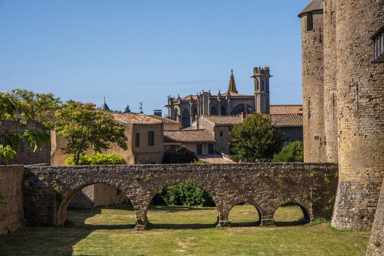 Carcasonne Kathedrale