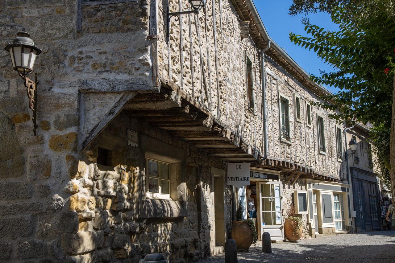 Carcasonne Fachwerkhäuser