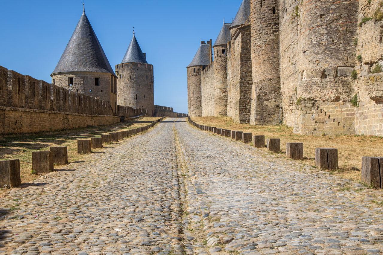 Carcasonne Wehrmauern