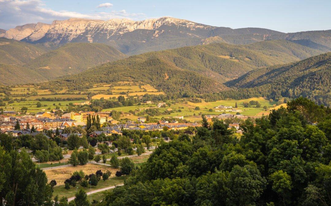 La Seu d'Urgell in der Abendsonne