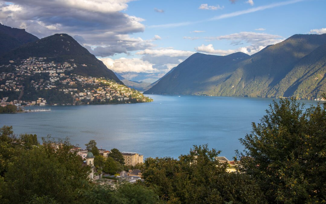 Luganersee - Lago di Lugano