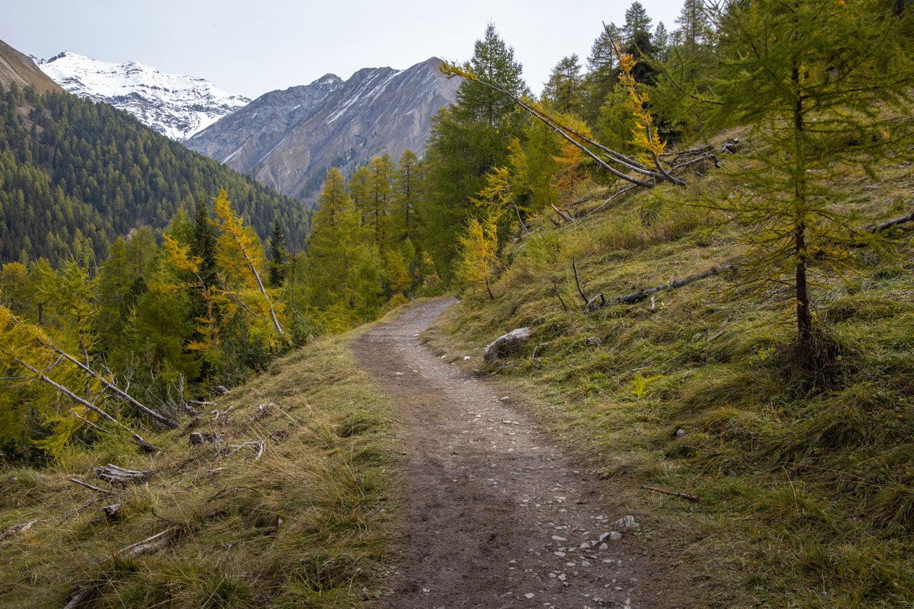 Wanderweg Nationalpark Alp Trupchun