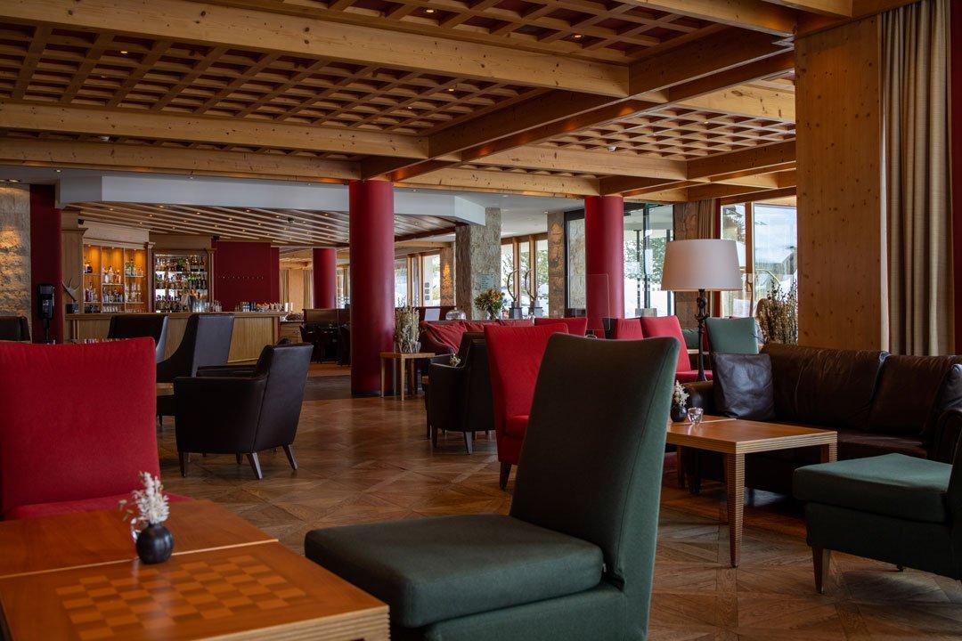 Lounge - Arosa Kulm Hotel