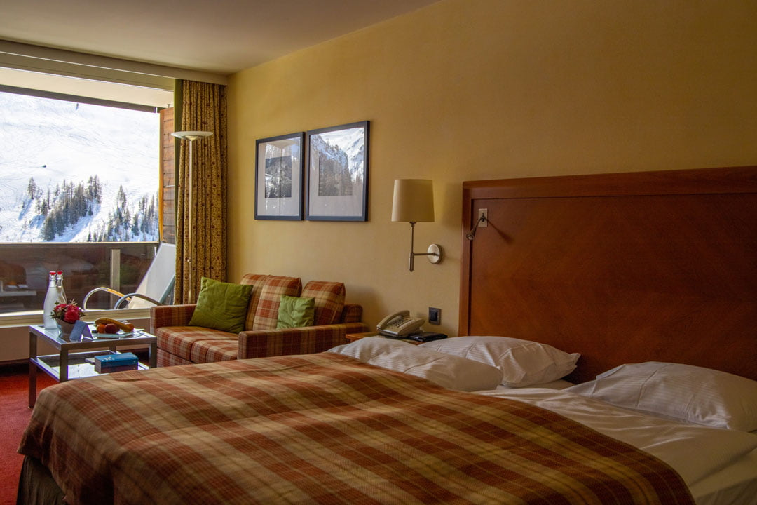 Zimmer Arosa Kulm Hotel