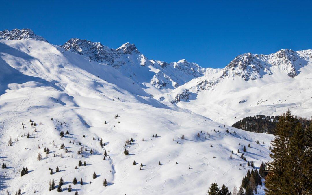 Winterpanorama Arosa