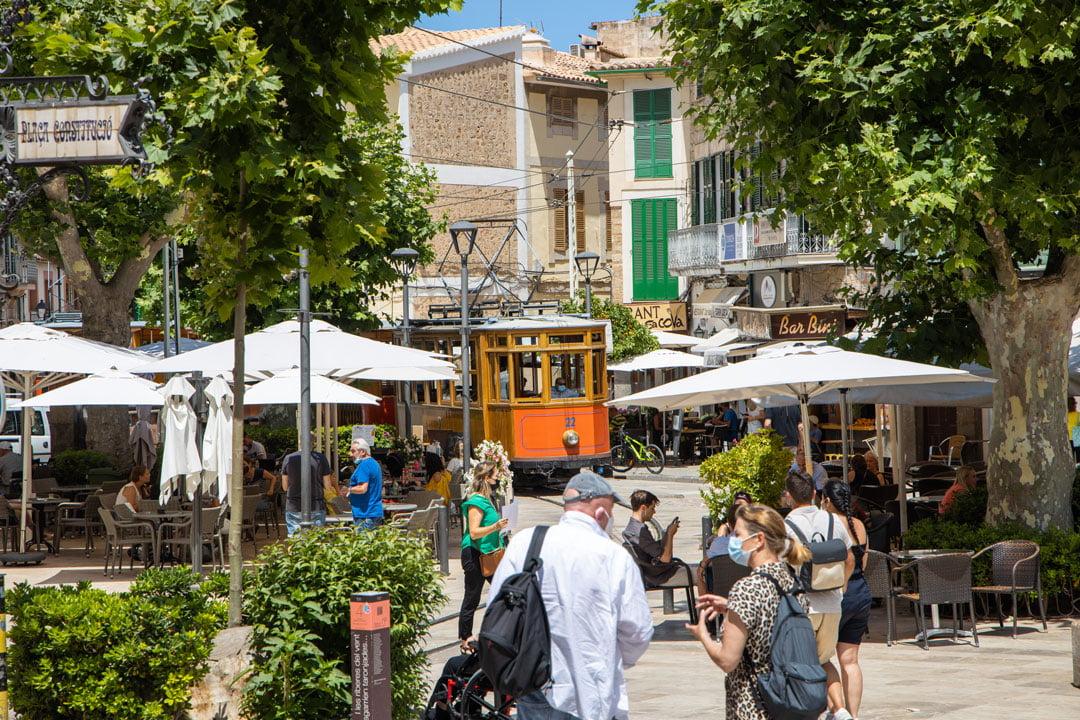Tram in Soller Mallorca